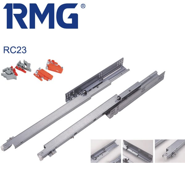 Full extension undermount drawer slides RC23