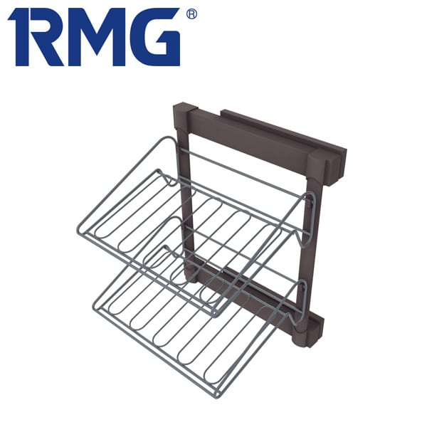 Lateral pull out shoe rack MY R310