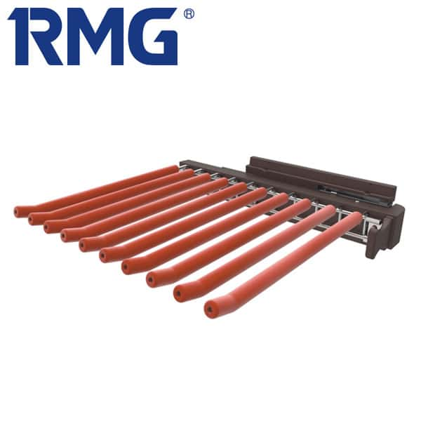 Lateral pull out trouser rack MY R315