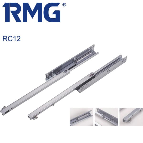 Single extension undermount drawer slides RC12(1)