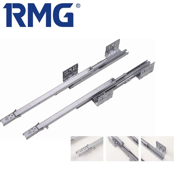 Soft closing side mount drawer slides RD23