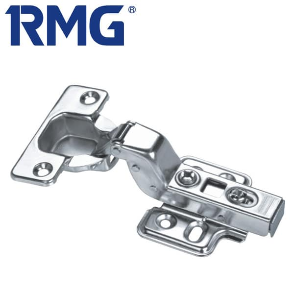 Stainless steel overlay hinges clip on MX1107