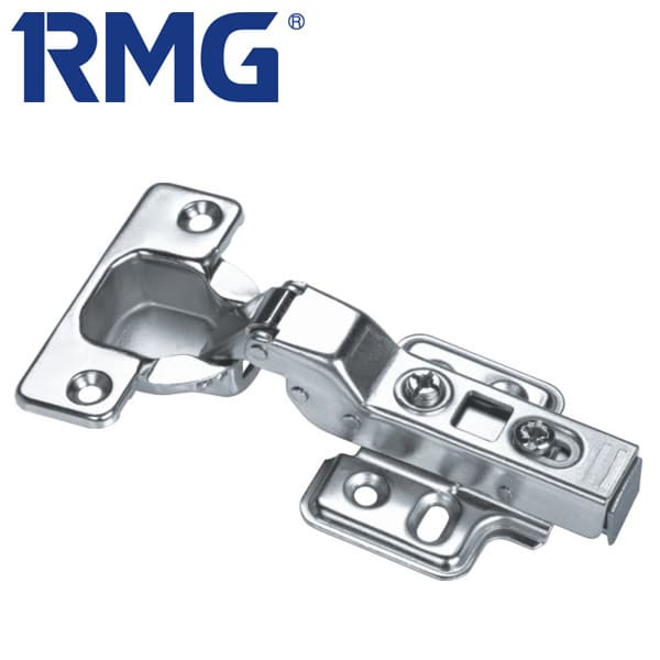 Stainless steel overlay hinges clip on MX1108