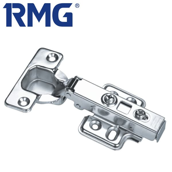 Stainless steel overlay hinges clip on MX1109