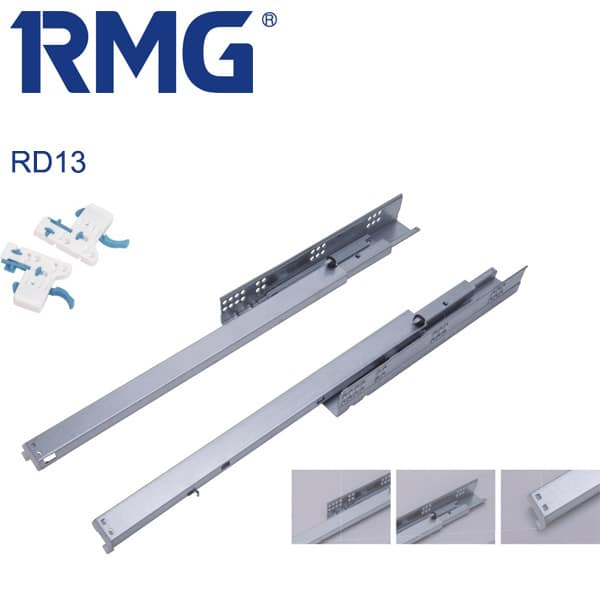 Sychronized undermount drawer runners RD13