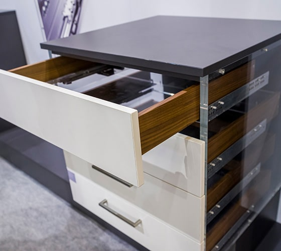 sliding drawer