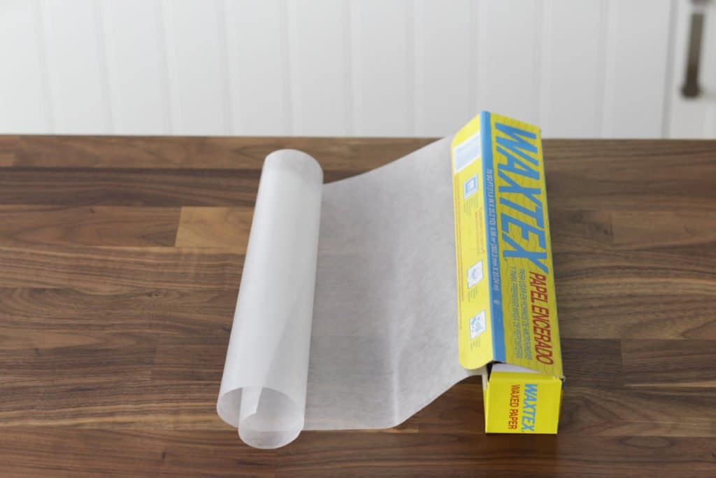 roll of wax paper